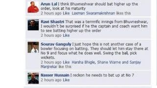 Bhuvneshwar Kumar trolled by Irfan Pathan after all-round performance in India's tour of England 2014