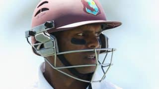 Shivnarine Chanderpaul dismissed as New Zealand gain command on Day 3 against West Indies