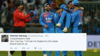 Chahal triggers a maddening English collapse as India take T20I series 2-1: Twitter reactions