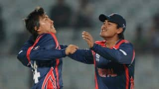 Hong Kong vs Nepal Qualifying Group A, ICC World T20 2014 Live Cricket Score: Nepal hammer Hong Kong by 80 runs