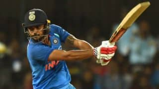 Manish Pandey: Was disappointed to not play for India after successful domestic season in 2009