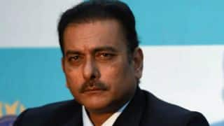 Shastri: Ganguly was not present during my interview