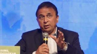 Sunil Gavaskar urges Indian cricketers to stop aggressive talks and focus on the game