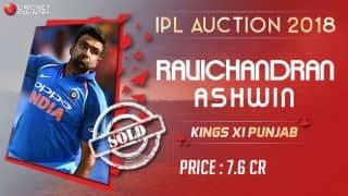 KXIP buy Ashwin for INR 7.6 Cr
