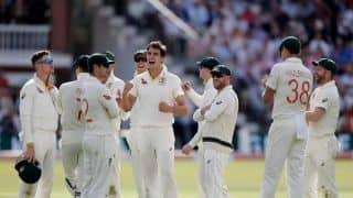 लॉर्ड्स टेस्ट: ऑस्ट्रेलिया ने इंग्लैंड को पहली पारी में 258 रन पर समेटा