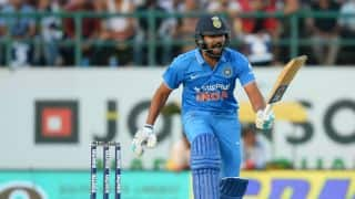 Rohit Sharma fails on ODI captaincy debut