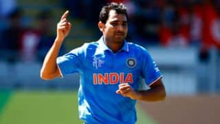 Mohammed Shami becomes leading wicket-taker in ICC Cricket World Cup 2015