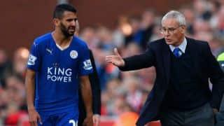 Claudio Ranieri brushes off Riyad Mahrez injury concern