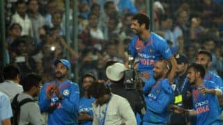 Nehra's swansong, Dhawan and Rohit's highest opening stand, and other highlights