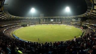 वानखेड़े में भारत-वेस्टइंडीज ODI कराने की MCA की उम्मीदाें को लगा झटका