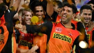IPL 2016: Yuvraj Singh imitates good friend Chris Gayle post Sunrisers Hyderabad's win over Royal Challengers Bangalore
