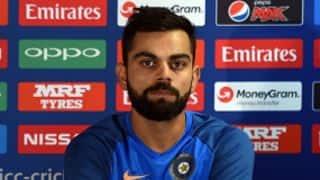 ICC Champions Trophy 2017: Virat Kohli hints at unchanged playing XI vs Bangladesh