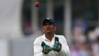 MS Dhoni concerned with India's poor batting in 3rd Test against England at Southampton