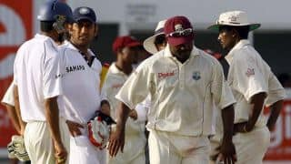When MS Dhoni was asked by Brian Lara to walk off