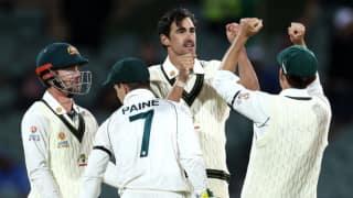 IND vs AUS, Day-2: मिशेल स्टार्क के चार विकेट हॉल, कमिंस की घातक गेंदबाजी से आधे घंटे में सिमटी भारतीय टीम