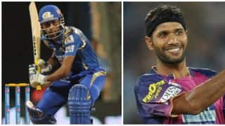 RPS vs MI IPL 2017:Hardik Pandya Scores 30 runs in Ashok Dinda's over