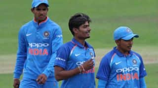 ICC U19 World Cup 2018: Anukul Roy rips away PNG; Prithvi Shaw's India register second win