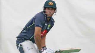 Usman Khawaja, Joe Burns put on 82 for the first wicket for Australia A in the final against India A in Chennai