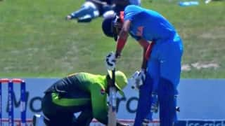 ICC Under-19 World cup 2018: Indian and Pakistan player helping each other during semi-final match is winning internet