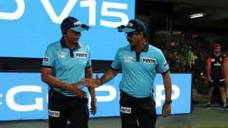 Ravi and Nandan could escape sanctions due to lack of Indian umpires in IPL