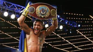 Vasyl Lomachenko knocks out Roman Martinez for WBO super featherweight world title