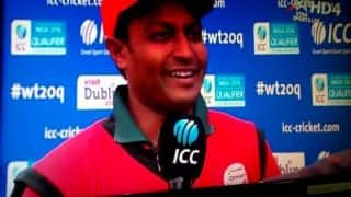 Oman's qualification for ICC World T20 2016 a dream come true: Sultan Ahmed