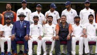 बीसीसीआई ने किया विजयी टेस्ट टीम के लिए नकद ईनाम का ऐलान