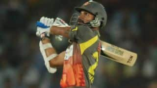 Sunrisers Hyderabad (SRH) vs Rajasthan Royals (RR), IPL 2014: Dhawan, Warner stabilise Hyderabad