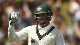 Usman Khawaja's century propels Australia to 238-3 vs New Zealand at lunch on Day 2, 1st Test