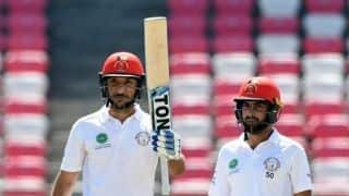 One-off Test: Rahmat Shah fifty takes Afghanistan closer