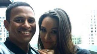Photo: Usman Khawaja gets engaged!