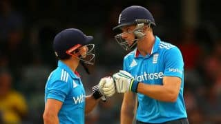 Buttler happy with his partnership with Taylor against India