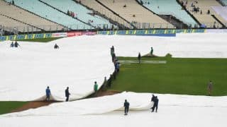 Weather app prevented a washout in the Eden Gardens Test, says curator