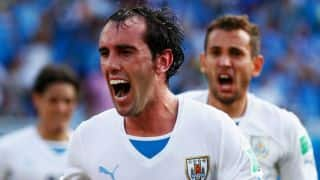 Uruguay defeat Italy 1-0 to progress to Round of 16