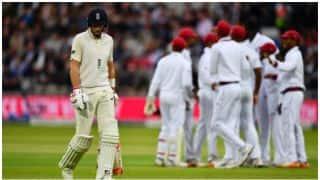 लॉर्ड्स टेस्ट: पहले ही दिन गिरे 14 विकेट, खेल खत्म होने तक इंग्लैंड-46/4