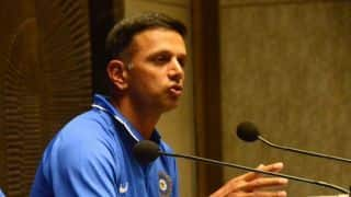 Aspiring cricketers from 16 countries  training under Rahul Dravid supervision
