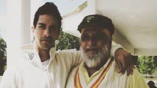 PHOTO: Angad Bedi wishes father Bishan Singh Bedi on birthday