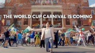 VIDEO: Andrew Flintoff 'On top of the world' in ICC World Cup 2019 promo