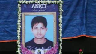 BCCI pays tribute to late Ankit Keshri at Eden Gardens during IPL 2015