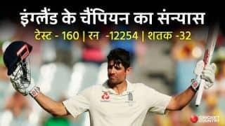 चैंपियन कप्तान...धाकड़ बल्लेबाज...टेस्ट दिग्गज कुक का संन्यास