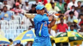 MS Dhoni is yet to score a Century against England in ODIs
