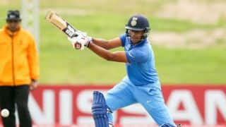 Manjot Kalra becomes 5th to score a hundred in final of ICC U19 World Cup 2018