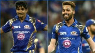 Focus on Hardik Pandya, Jasprit Bumrah's workload in Mumbai vs Delhi match