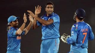 Chamara Kapugedara dismissed for 25 by Ravichandran Ashwin in 1st T20I against India