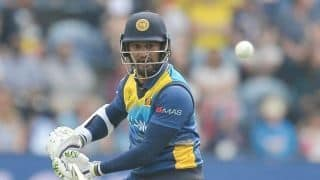 Cricket World Cup 2019: Dimuth Karunaratne becomes second batsman to carry his bat through the innings in World Cup