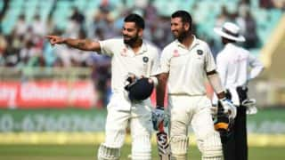 Cheteshwar Pujara climbs to 2nd position in ICC Test rankings; Virat Kohli retains 5th place