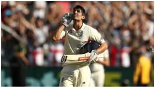 The Ashes 2017-18, 4th Test: Alastair Cook smashes 32nd hundred, England 192/2 after day 2