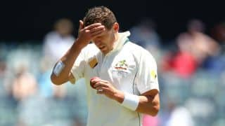 Peter Siddle ruled out of 2nd Test