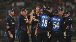 New Zealand players shop in a mall in Kanpur ahead of final ODI vs India