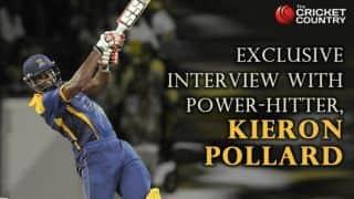 Kieron Pollard: You look forward to rub shoulders with players like Sachin Tendulkar, Ricky Ponting